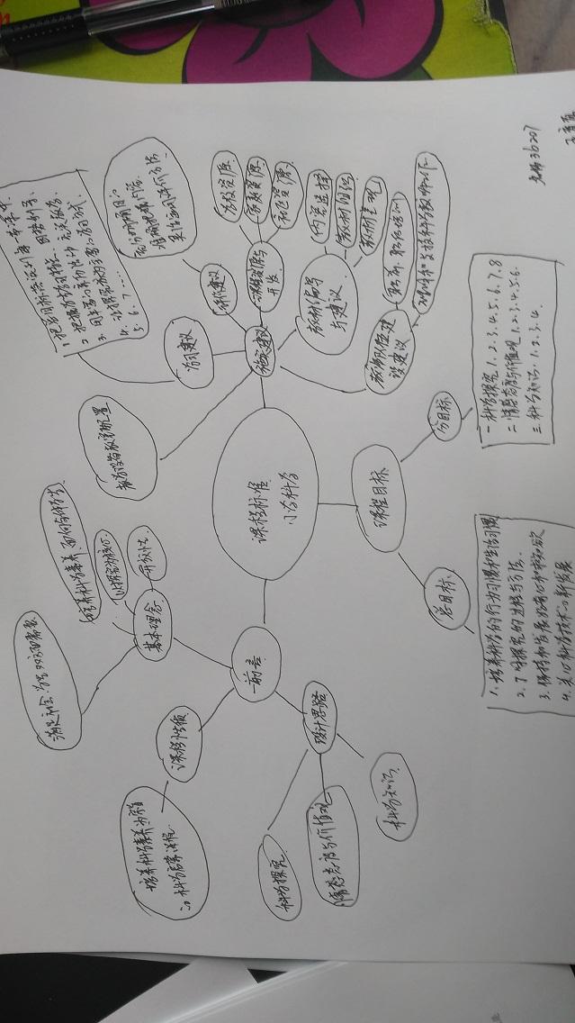 思维方案数学小学小学导图课程作业科学标准设计图片